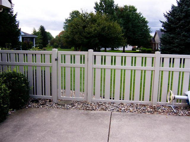 Vinyl fencing by design
